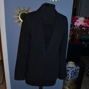 Mossimo Black Blazer, Double Button